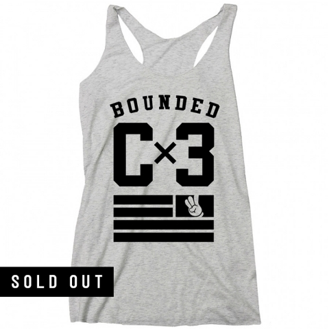 Bounded - Team Racerback Tank (Ladies)