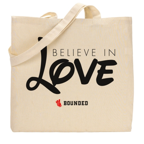 Bounded - Believe Love Tote Bag
