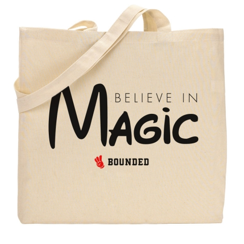Bounded - Believe Magic Tote Bag