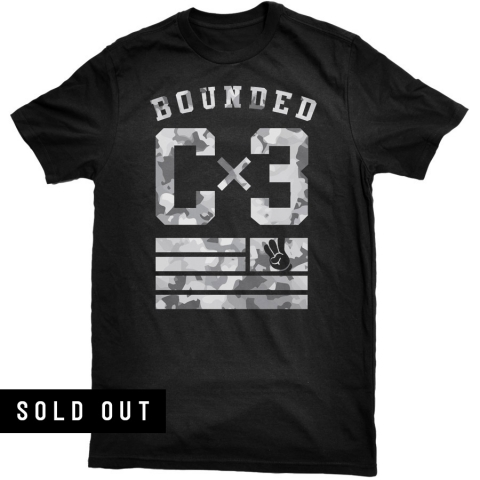 Bounded - Camo Team Tee - (Limited Edition)