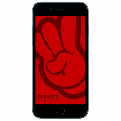 Bounded - Hand Wallpaper