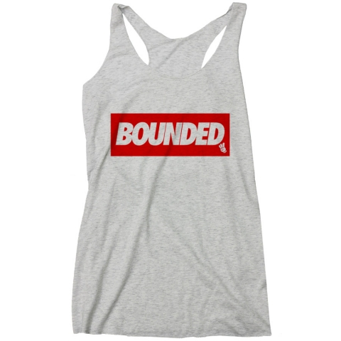 Bounded - Box Women's Racerback